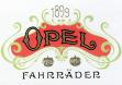 Логотип под которым выпускались велосипеды Опель в 1899 году