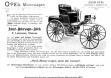 Реклама первого автомобиля Опель