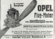Реклама авиационных двигателей Opel