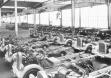 Шасси Opel Blitz в цехе завода в Бранденбурге