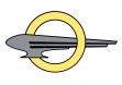 Эмблема Opel Blitz с 1937 года