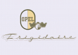 Эмблема холодильника Opel Frigidaire