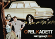 Реклама Opel Kadett A