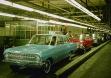 Окончательная проверка Opel Rekord на заводе в Руссельсхайме