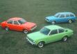 Opel Kadett C в трех вариантах кузова