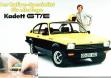 Реклама купе Opel Kadett C GT/E с Вальтером Рорлом