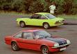 Opel Manta B SR (спереди) и GT/E (сзади)
