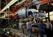 Окончательная сборка Opel Kadett D на заводе в Бохуме