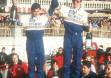Победители Ралли Монте-Карло Вальтер Рорл и Кристиан Гайстдерфер на Opel Ascona B 400 в 1982 году