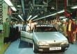 25-миллионный Opel Omega A, покидает завода в Руссельхейме 23 февраля 1989 года