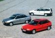 Разные варианты кузова Opel Astra F