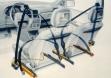 Системы безопасности Opel Astra F: преднатяжитель ремня безопасности