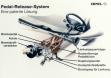 Система педалей в Opel Vectra B