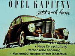 История Опель 1940-1950