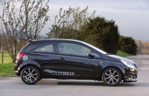 Уменьшенный дорожный просвет после тюнинга Opel Corsa D
