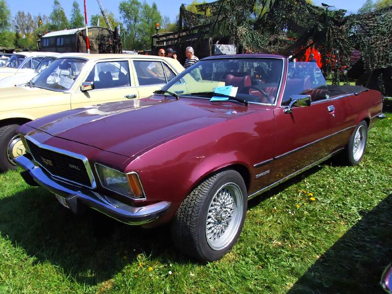 Opel Commodore B Cabrio