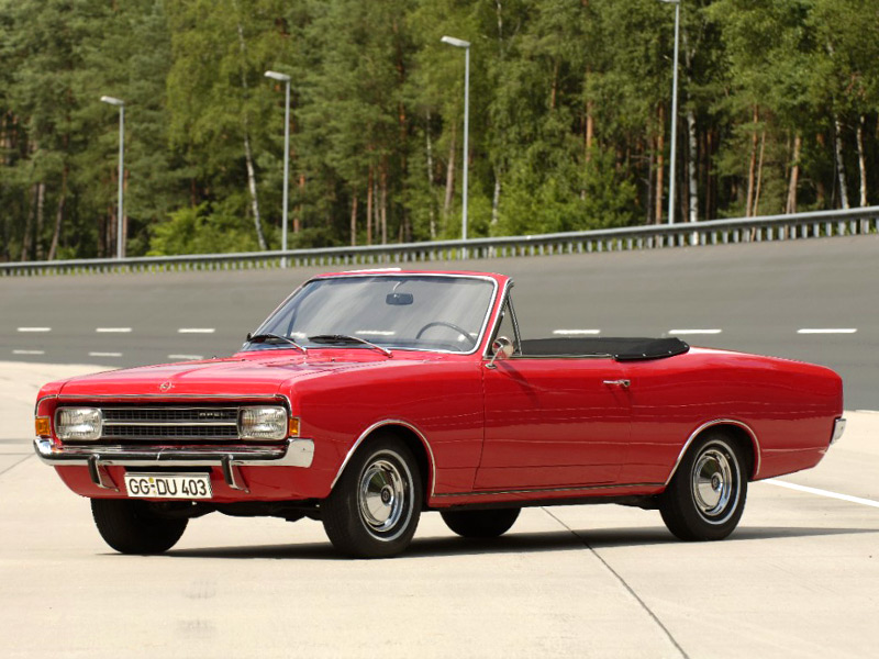 Opel Rekord C Convertible