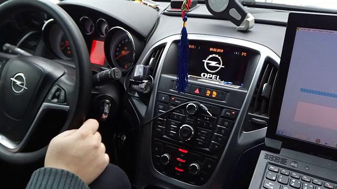 Проведение диагностики Opel Astra H без сканера
