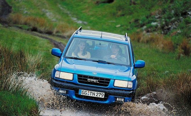 Технические характеристики Opel Frontera B