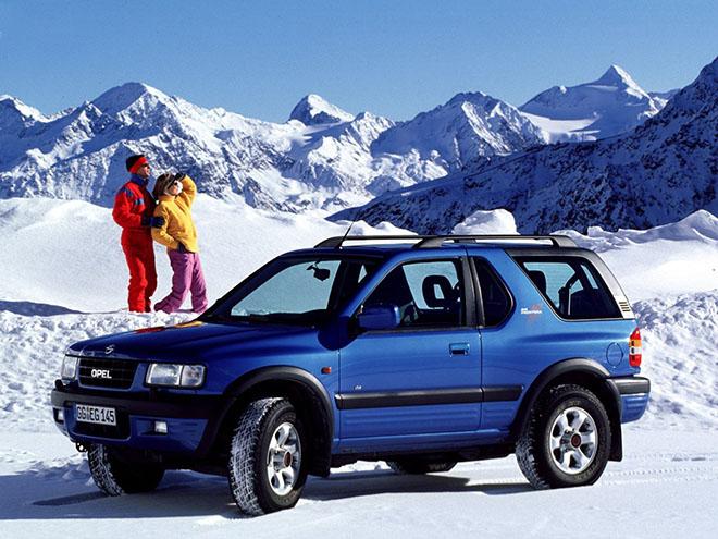 3-дверная Opel Frontera B