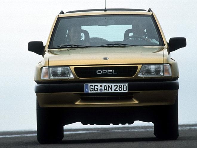 Двигатели Opel Frontera A