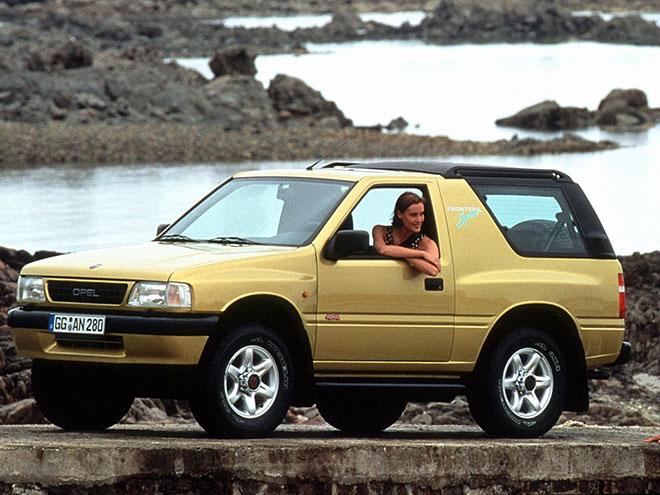 Технические характеристики Opel Frontera A
