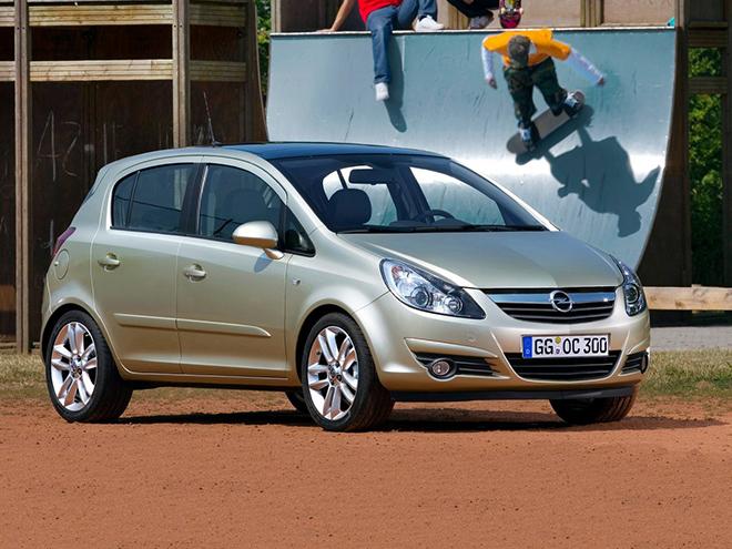 Opel Corsa D рестайлинг l (2010–2011)