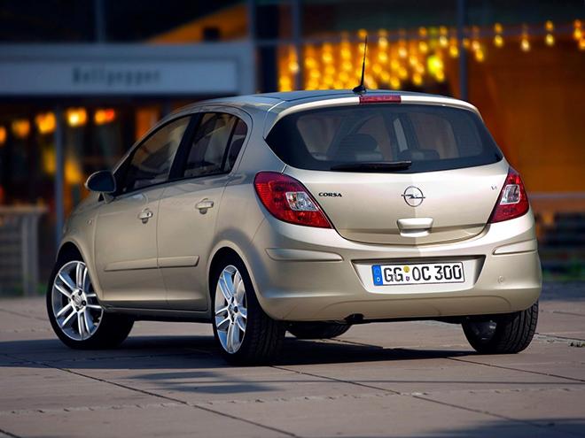 Opel Corsa D рестайлинг l (2010–2011) экстерьер