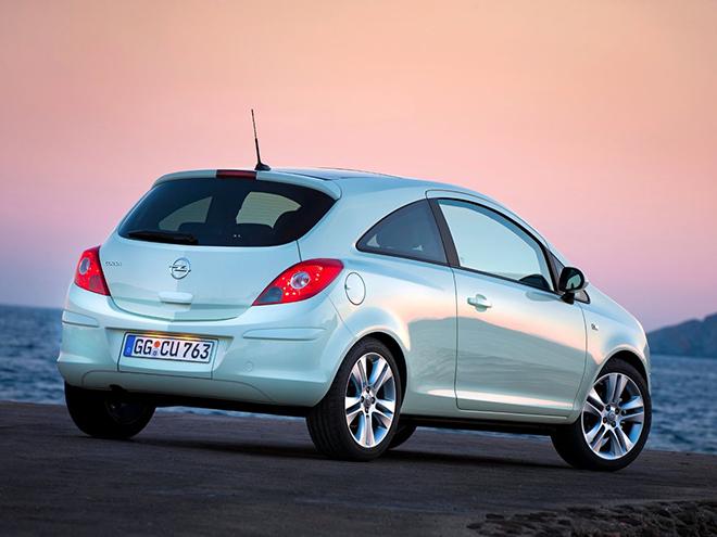 Opel Corsa D рестайлинг ll (2011–2014) экстерьер