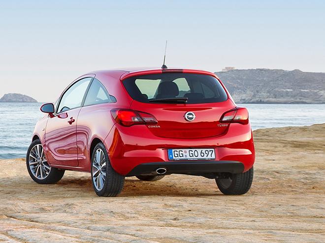 Opel Corsa E экстерьер