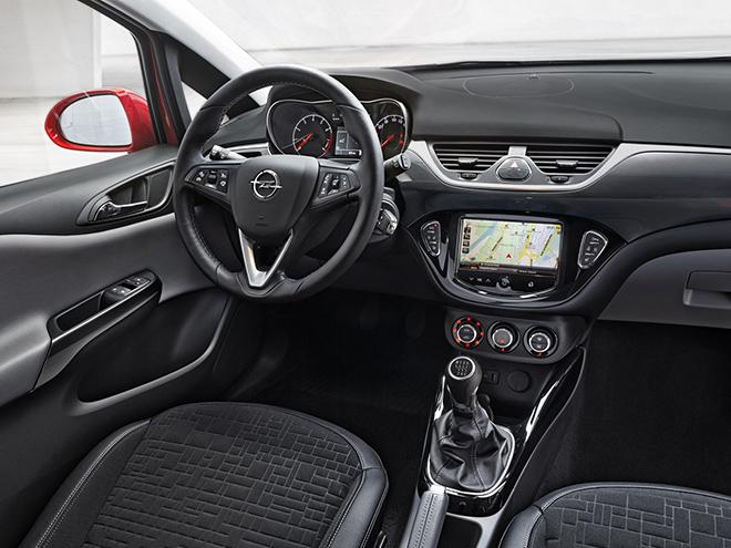 Opel Corsa E салон