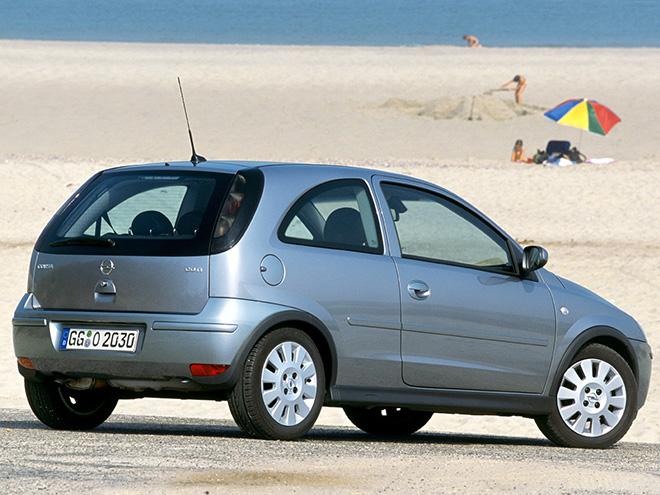 Opel Corsa C рестайлинг (2003–2006) экстерьер