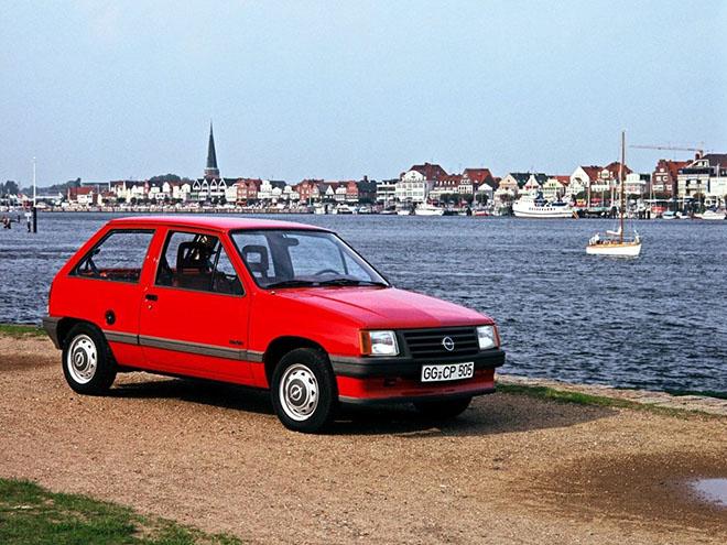 Opel Corsa A (1982–1993) экстерьер
