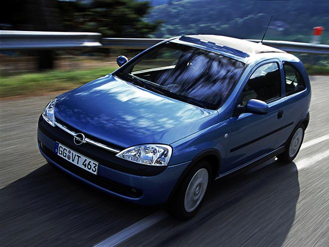 Opel Corsa C (2000–2003)