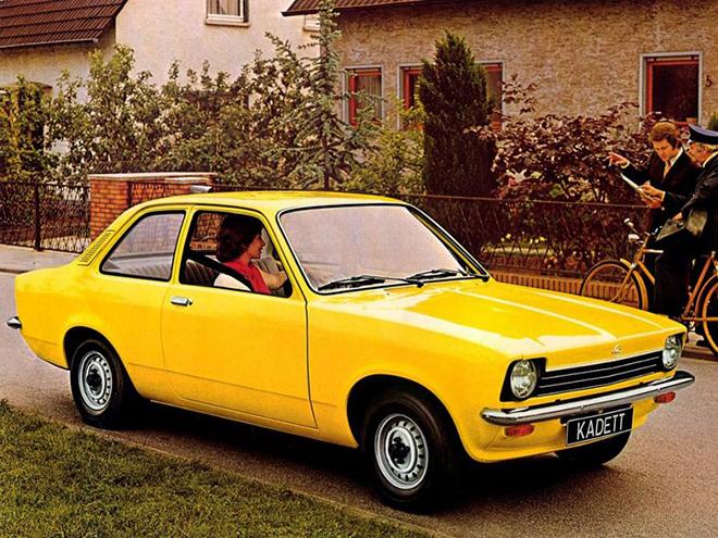 Opel Kadett 1965-1973 года выпуска