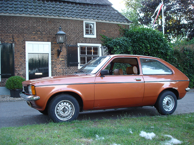 Opel Kadett четвертое поколение С