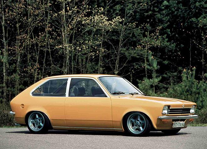 Opel Kadett 1973-1975 года выпуска
