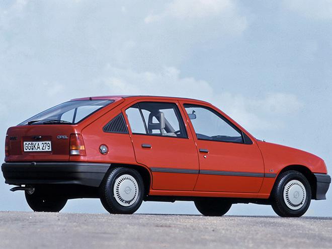 Opel Kadett 1979-1984 года выпуска