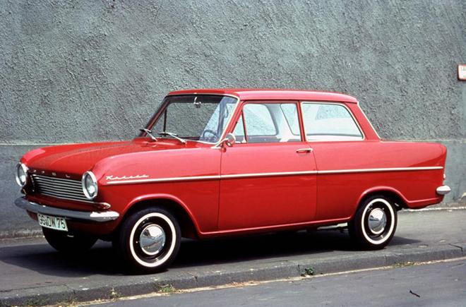 Opel Kadett второе поколение А