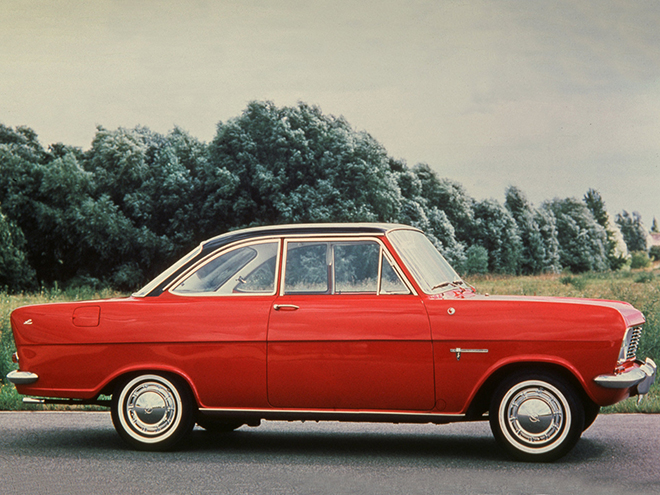 Opel Kadett 1962-1965 года выпуская