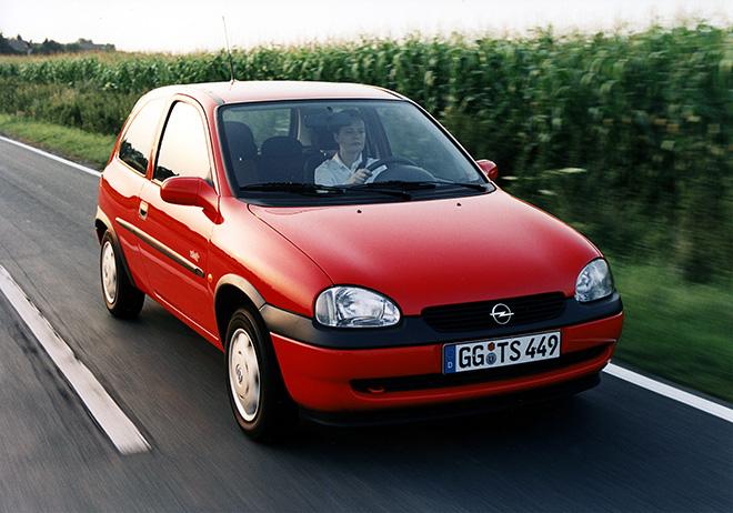 Opel Corsa B (1993–2000) экстерьер