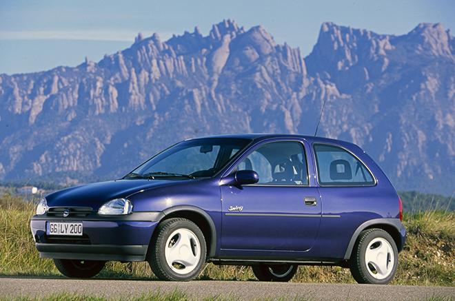 Opel Corsa B (1993–2000) кузов