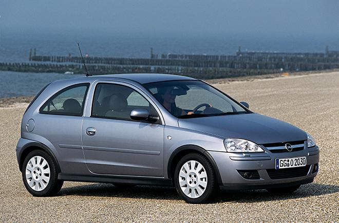 Opel Corsa C рестайлинг (2003–2006)
