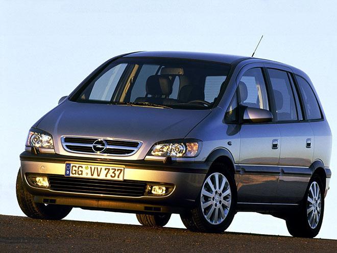 Opel Zafira A рестайлинг (2003–2006)
