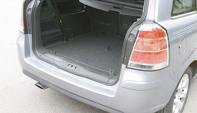 Технические характеристики Opel Zafira B