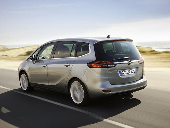 Технические характеристики Opel Zafira С (2011–2016)