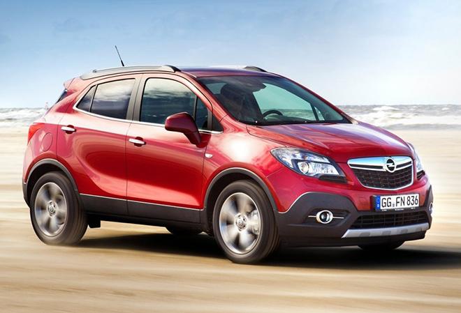 Кузов Opel Mokka