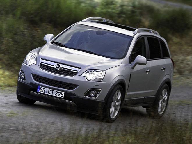 Opel Antara l рестайлинг (2010–2017)