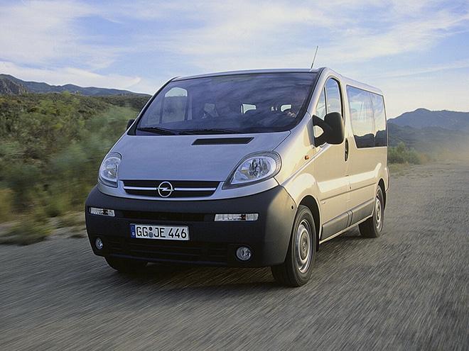 Opel Vivaro A рестайлинг (2006–2014)