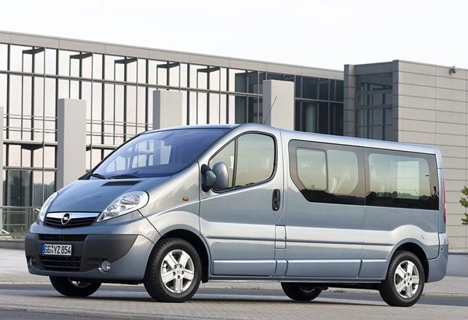 Экстерьер Opel Vivaro A рестайлинг (2006–2014)